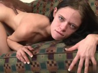 Vidéo porno mobile : Slim girl with nice small boobs fucked by a black dick